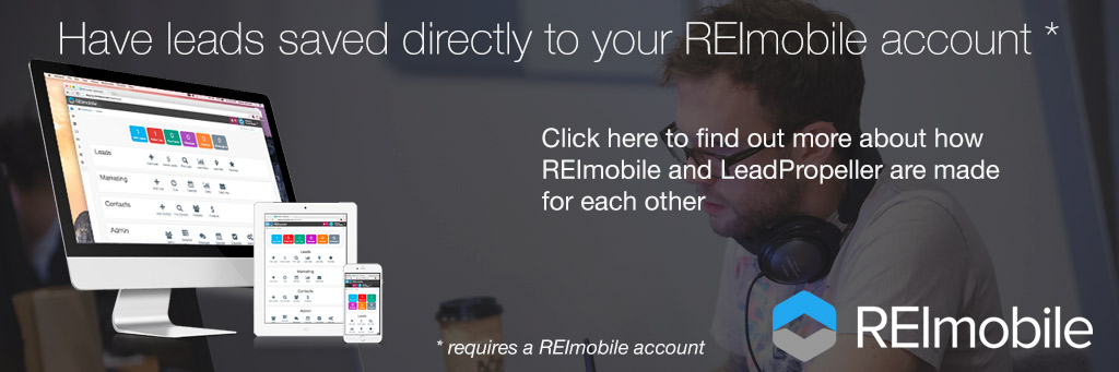 integrates with REImobile - the Real Estate Investor CRM Software System